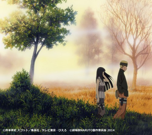 Naruto y Hinata en The Last Movie